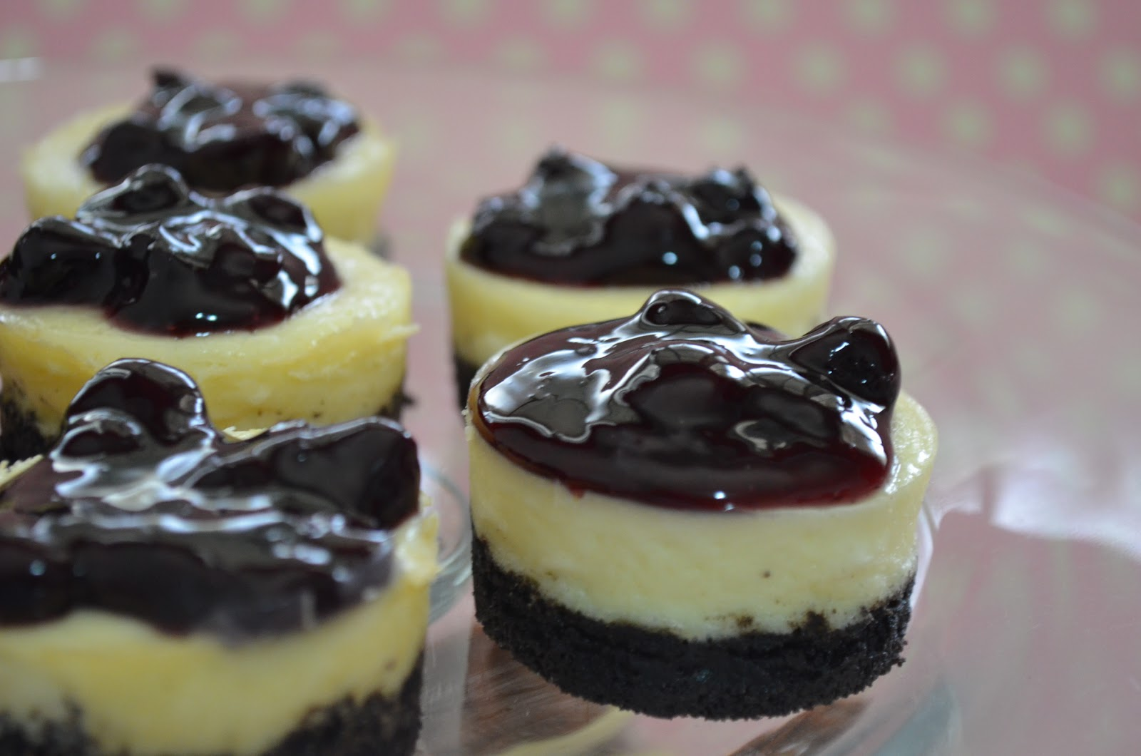 Individual Blueberry Cheesecakes Recipes — Dishmaps