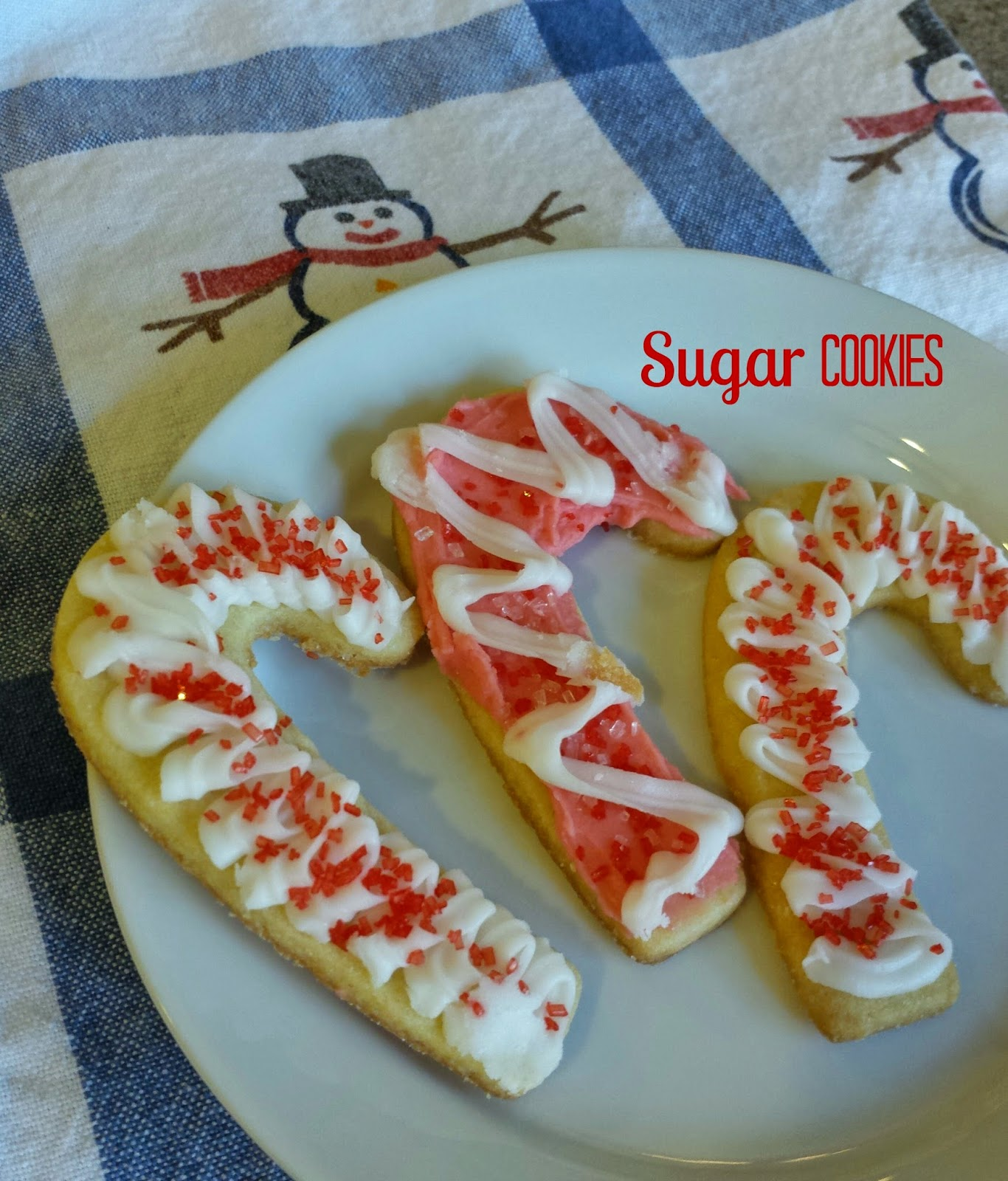 Kid-friendly and easy Sugar Cookie recipe for the holidays or anytime of year.