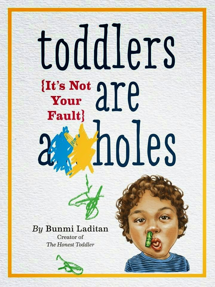 http://www.amazon.com/Toddlers-Are-holes-Your-Fault/dp/076118564X/ref=tmm_hrd_swatch_0?_encoding=UTF8&sr=8-1&qid=1418313785