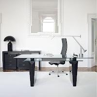 iluminación oficina moderna