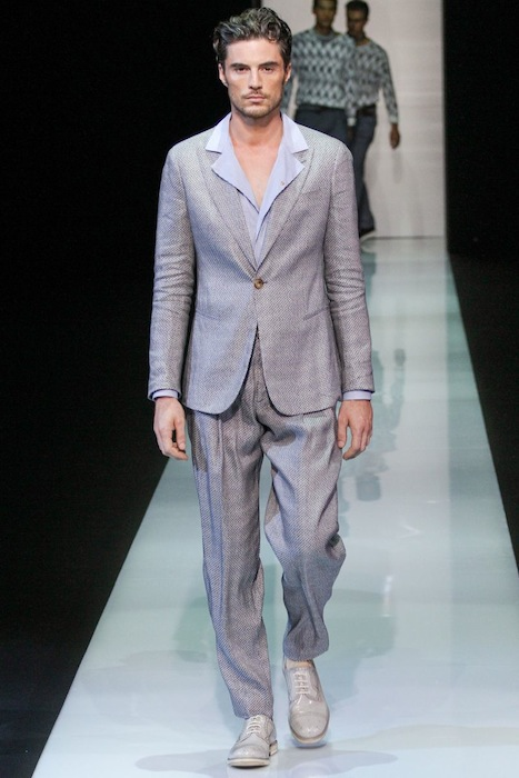 Giorgio Armani S/S 2013 Men's Fashion Photo-2
