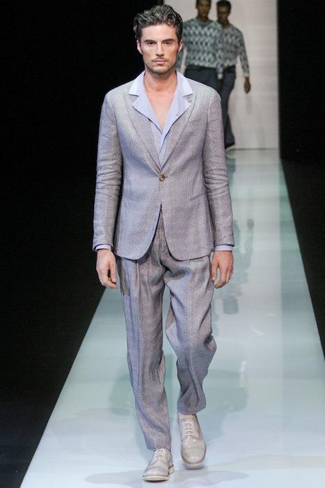 Giorgio Armani S/S 2013 Men's Fashion Photo-2