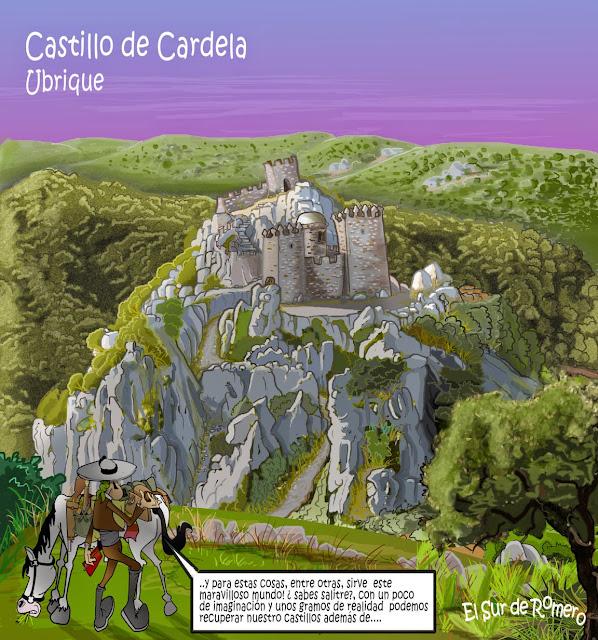 """<img src=""""Castillo de Cardela.jpg"""" alt=""""Dibujo de Castillo""""/>"""