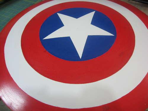Fabricando el Escudo del Capitn Amrica