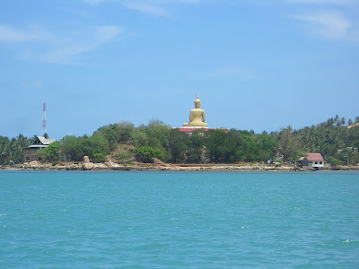 Big Buddha Koh Samui from the Haad Rin Queen