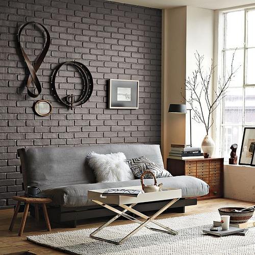 Muros   ladrillos expuestos   casa haus decoración