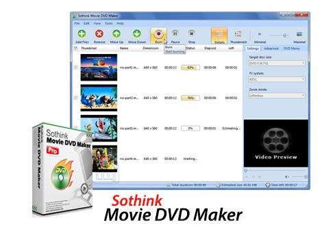 Sothink Movie DVD Maker Pro v3.7.341