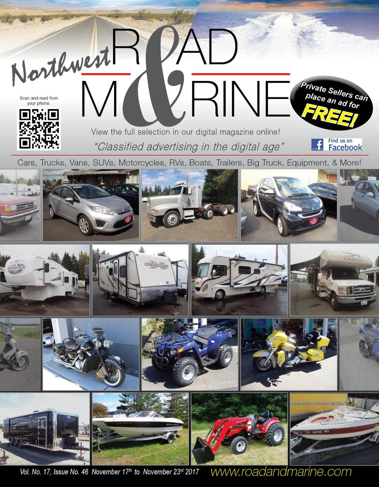 NW Road & Marine Glossy & Digital Magazines!!
