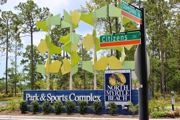 Citizens Circle and Champions Blvd - North Myrtle Beach Park & Sports Complex