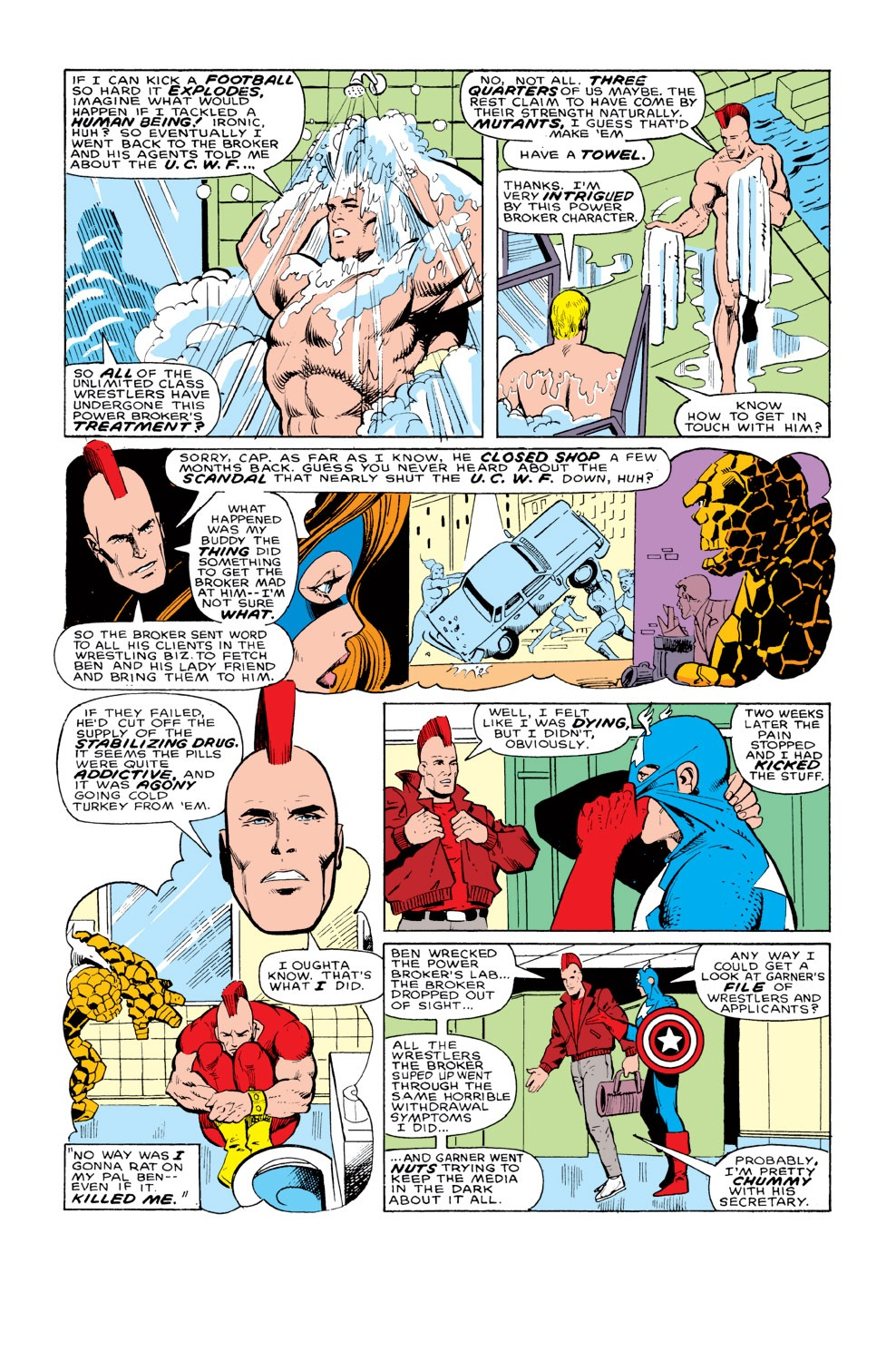 Captain America (1968) Issue #328 #257 - English 9