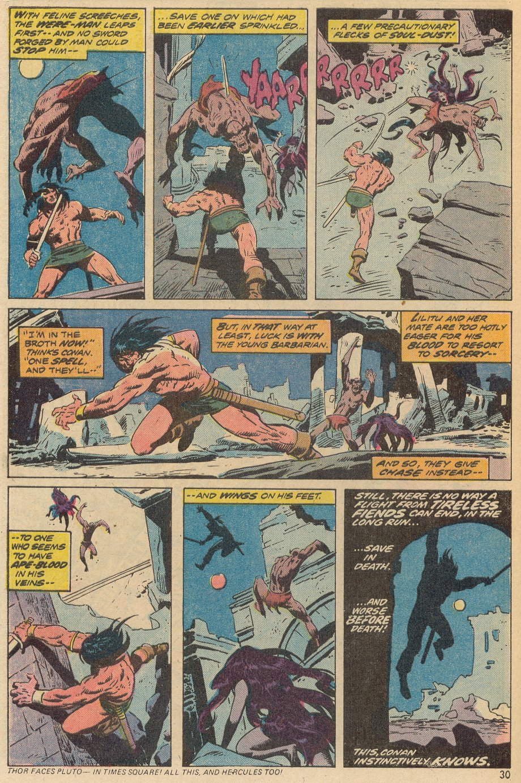 Conan the Barbarian (1970) Issue #38 #50 - English 21