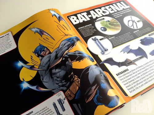 encyclopedie batman accessoires