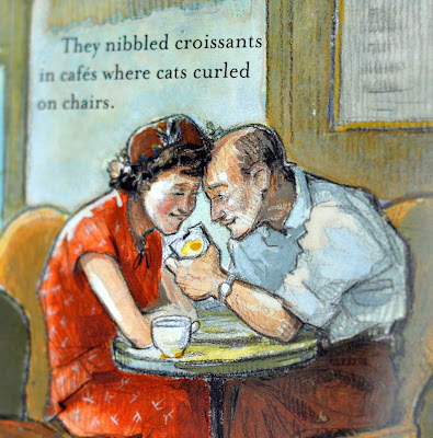 Illustration by Amy Bates in Susanna Reich's Children's Book, Minette's Feast - Photo by Michelle Judd of Taste As You Go
