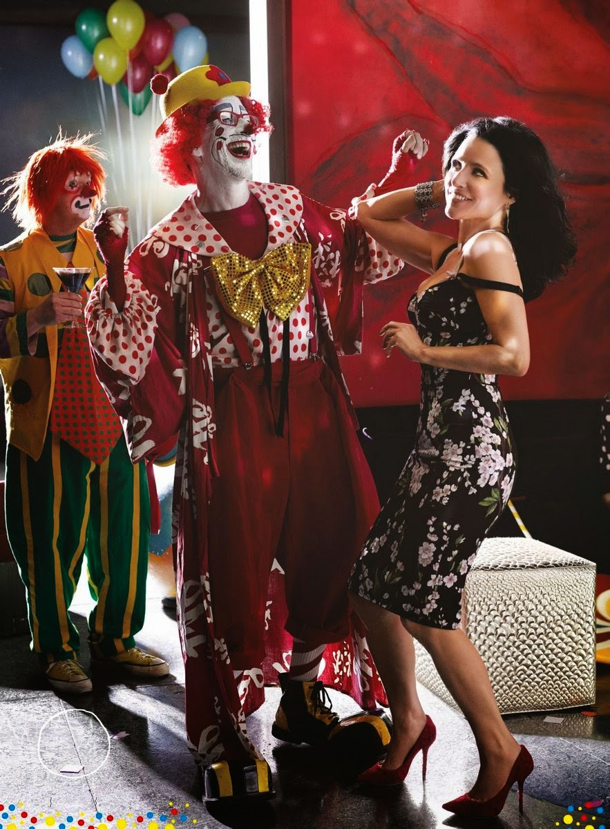 Julia Louis Dreyfus Clown Julia Louis Dreyfus For gq