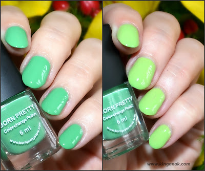 Green thermal polish (Bornprettystore 101)