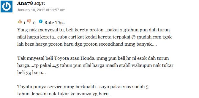Apa kata pengguna Toyota Avanza 7