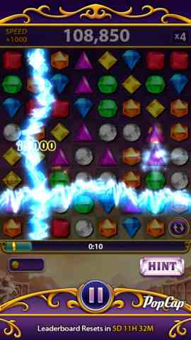 Bejeweled Blitz, iPhone Games Arcade Free Download, iPhone Applications