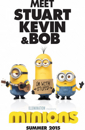 Minions: Official Theatrical Release Poster