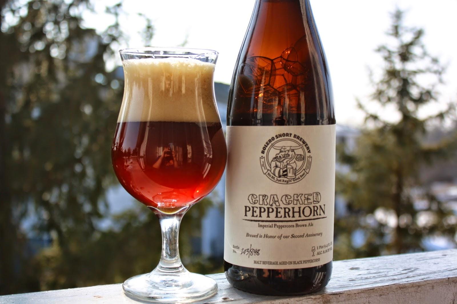 Bolero Snort Brewery, Craft Beer, Cracked Pepperhorn, New Jersey