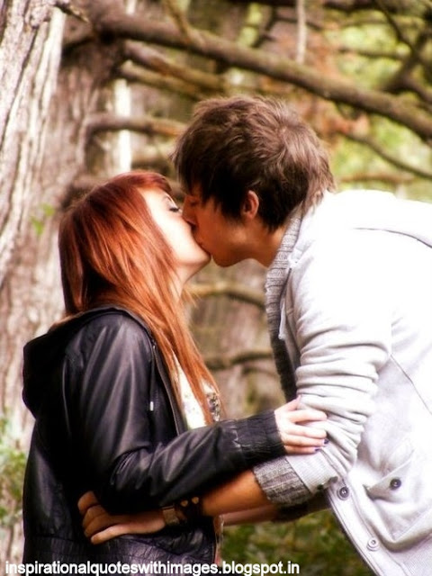 love kissing couple with images pics wallpapers