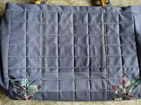 quilting and patchwork with cardboard