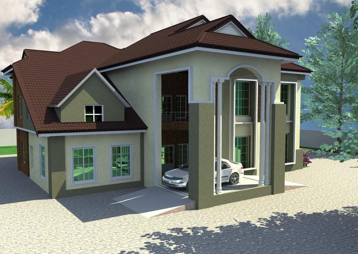 4 bedroom duplex designs plan in nigeria joy studio for Duplex ideas