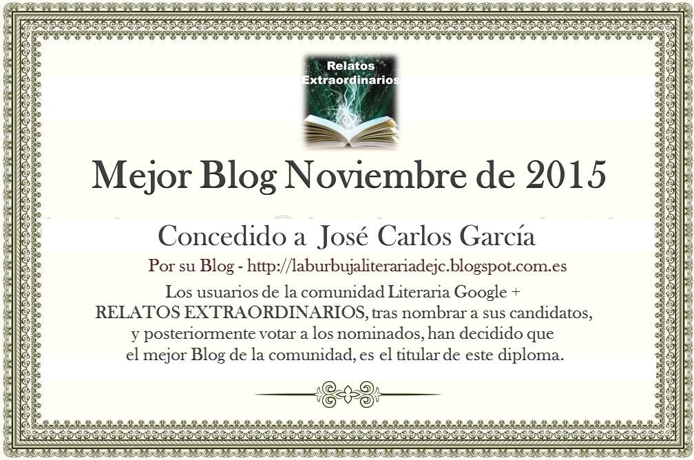 Mejor blog de Noviembre 2015