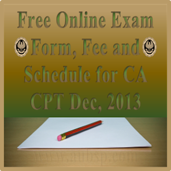 CA CPT Exam Schedule