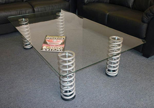 The art of up cycling diy furniture really cool Custom furniture made car parts