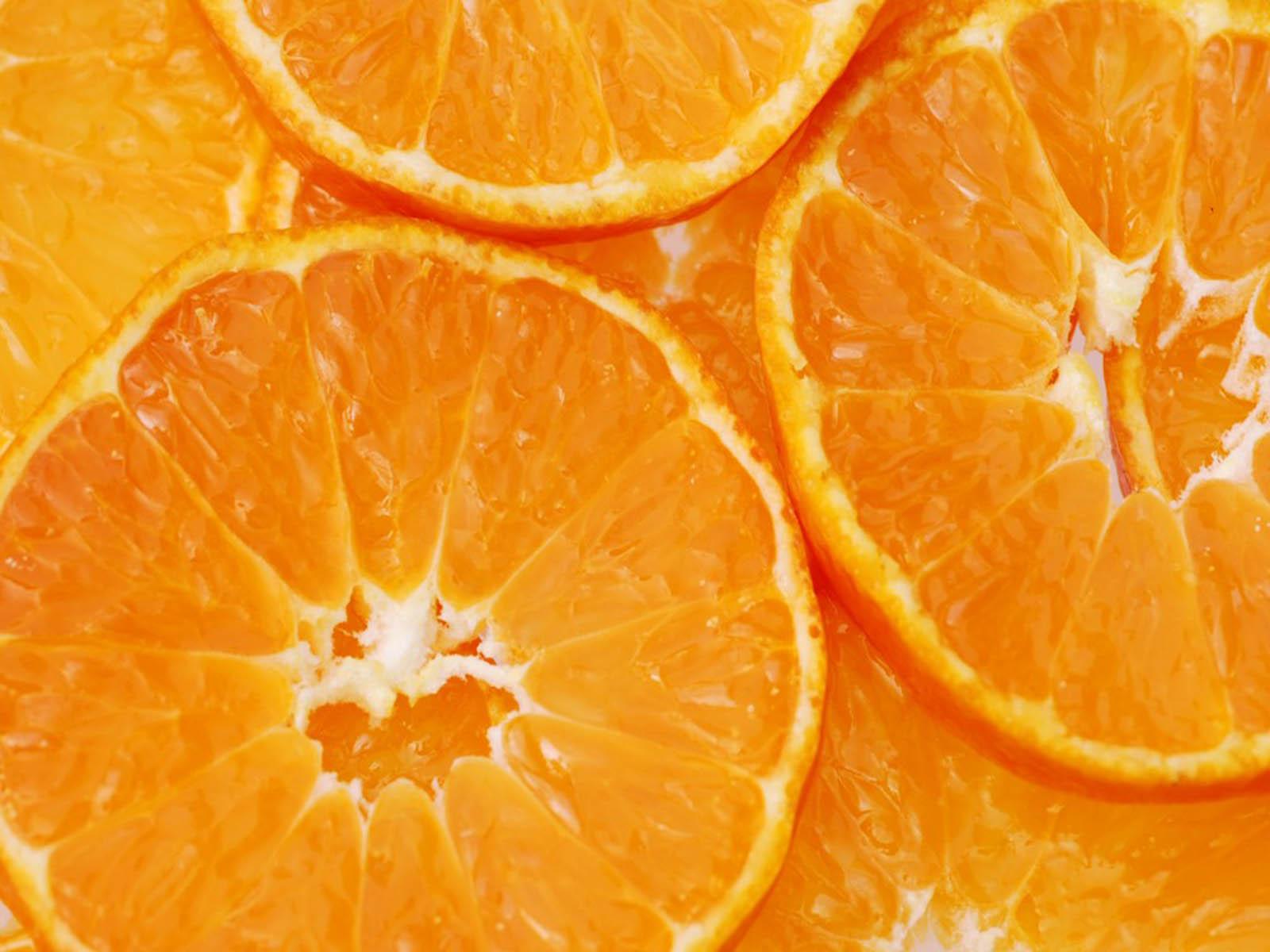 wallpapers orange fruits wallpapers On orange wallpaper
