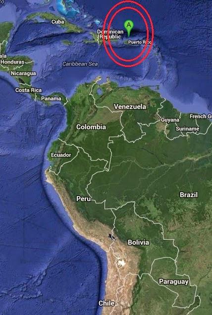 Magnitude 3.0 Earthquake of Brenas, Puerto Rico 2014-09-16