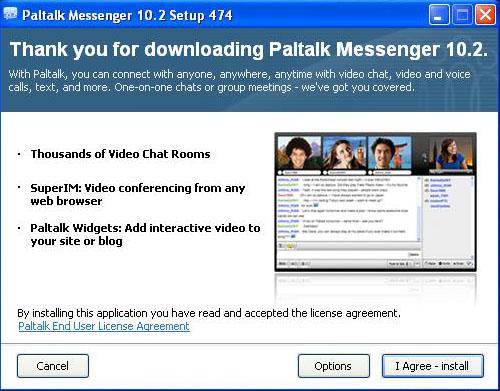 Paltalk Live Chat Install Start