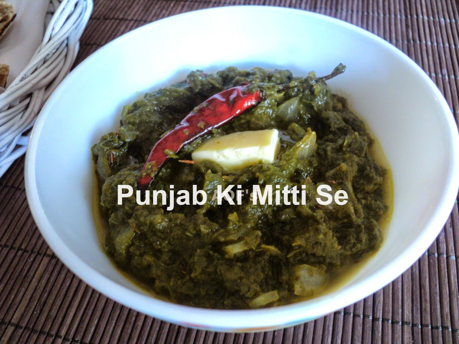 Popular recipes from Punjab