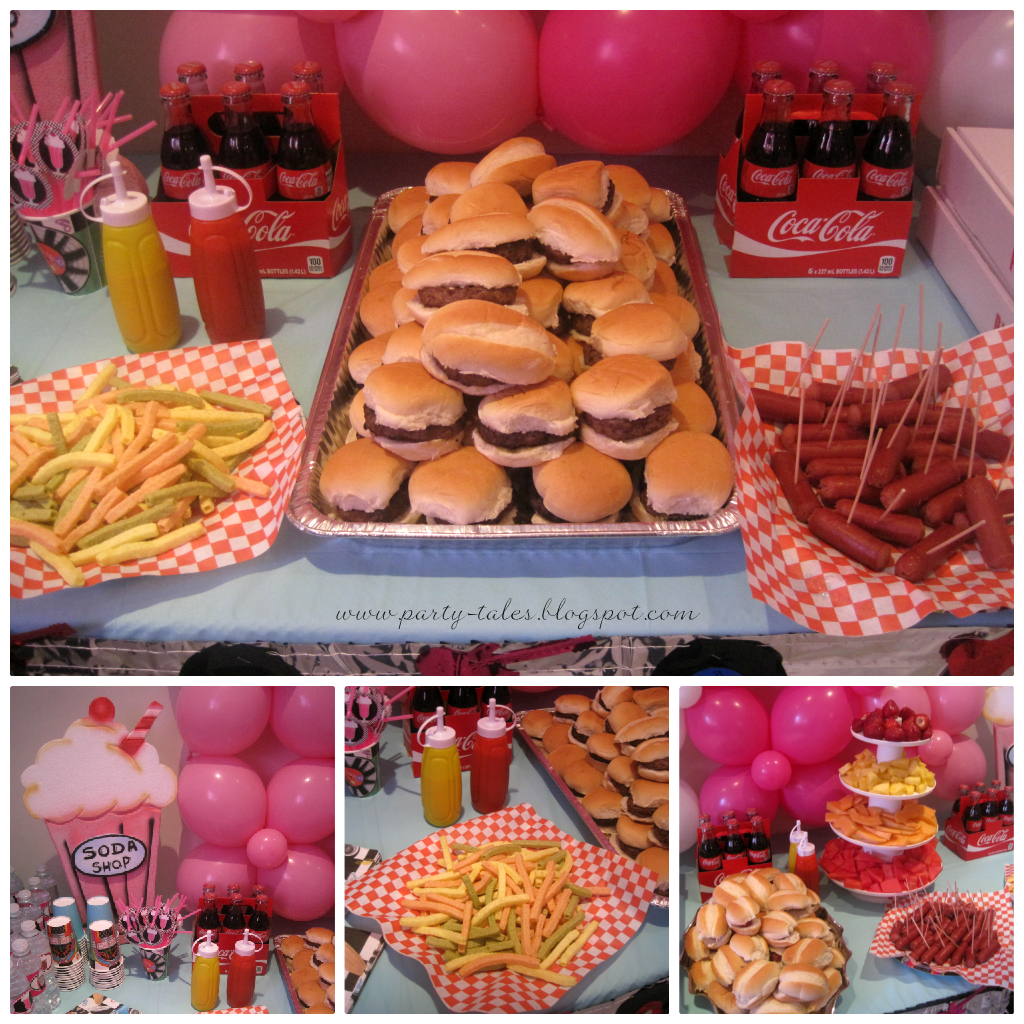 Party Tales Birthday Party 50 39 S Diner Sock Hop Part 2