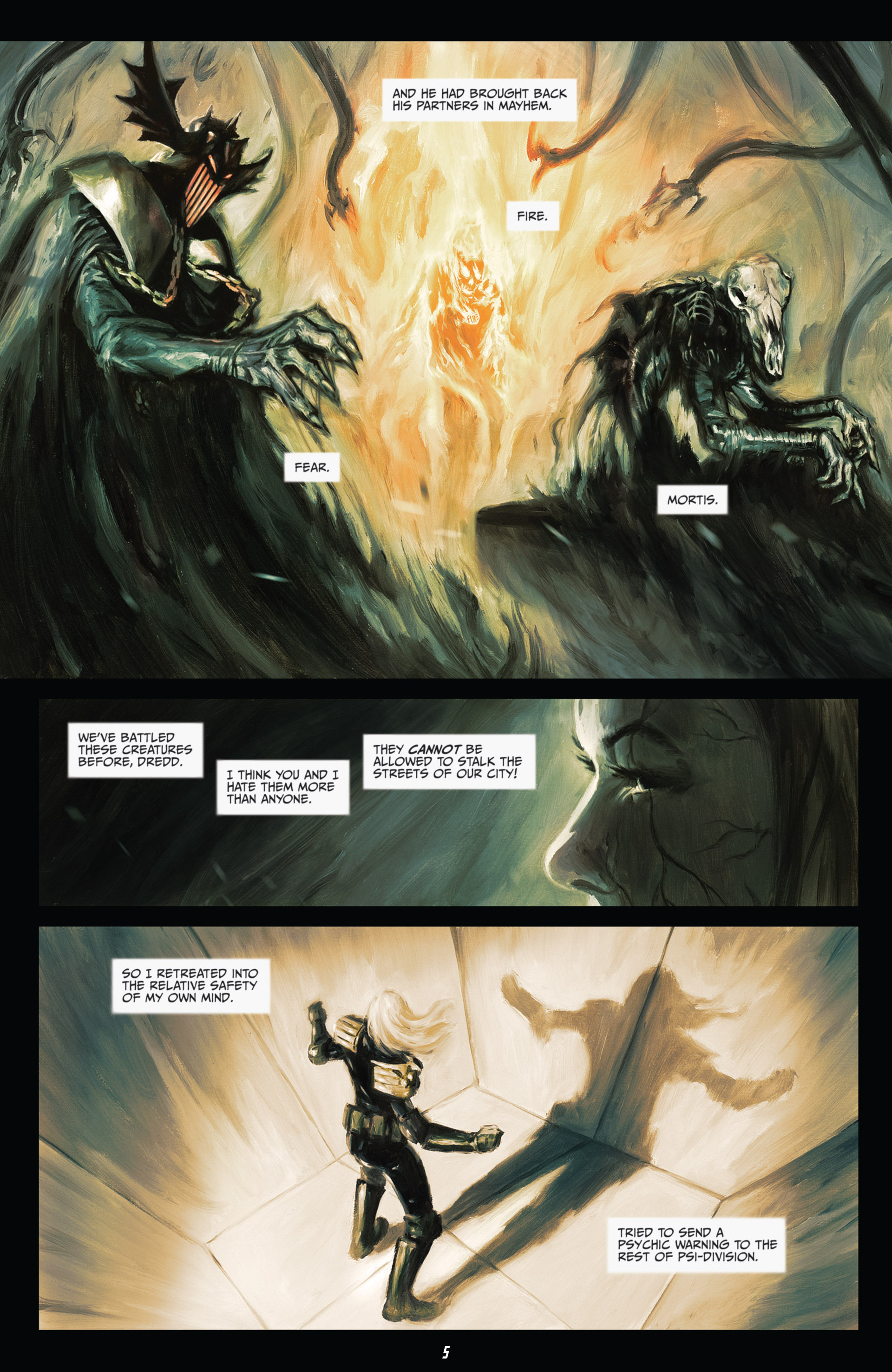 Read online Judge Dredd (2012) comic -  Issue #21 - 7