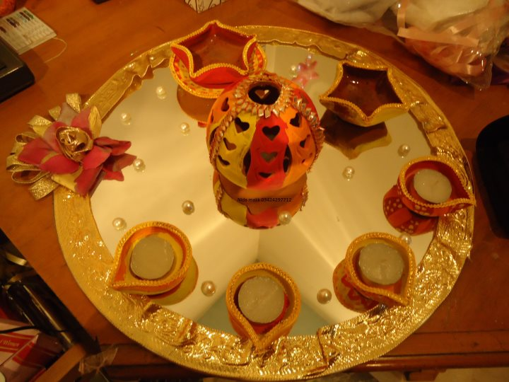 Mehndi Plates Decoration Ideas 2018 : Shannu s celebrators