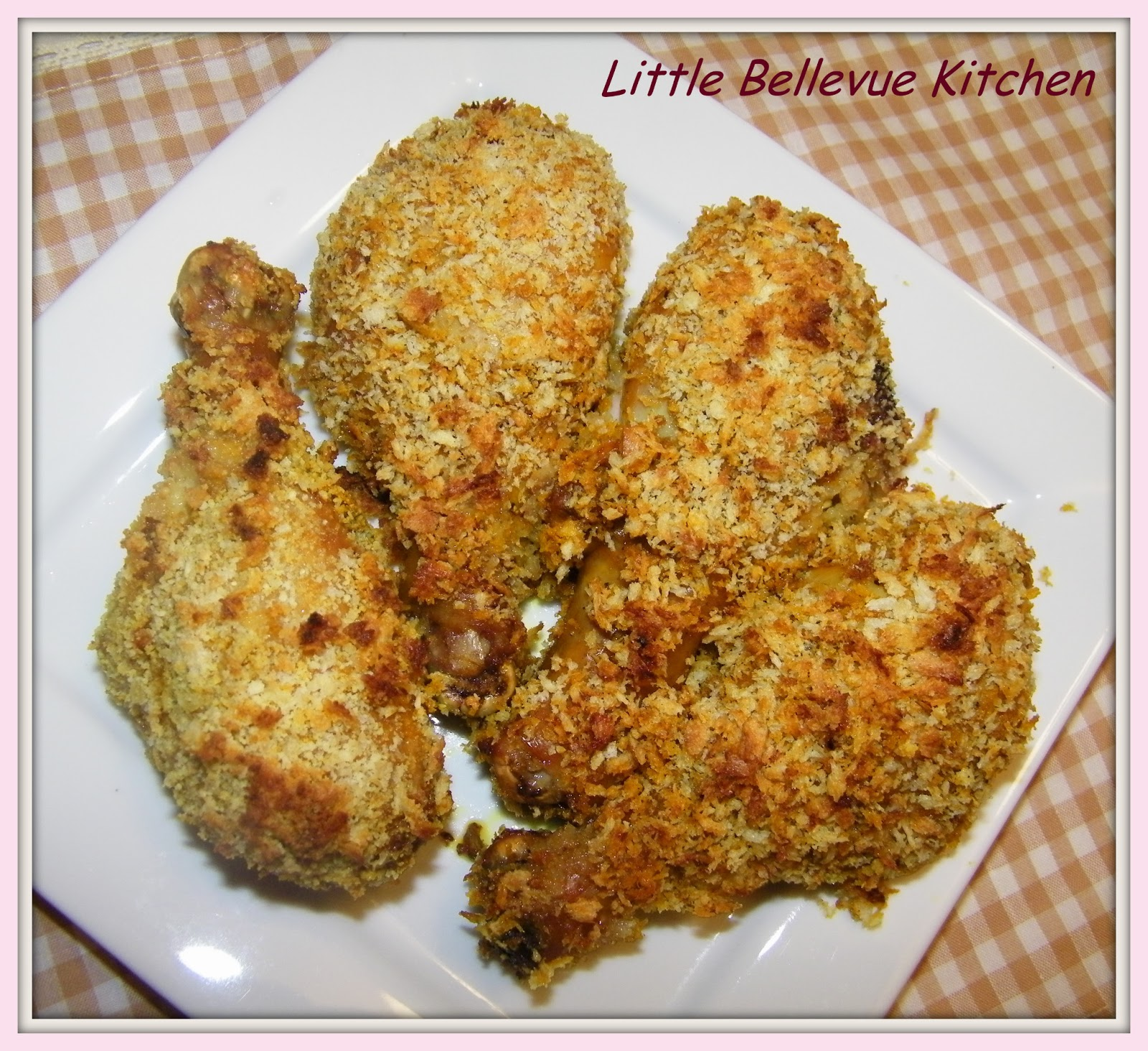 Little Bellevue Kitchen: Spicy Baked Breaded Chicken ...