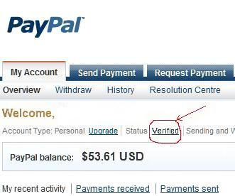 paypal account usa
