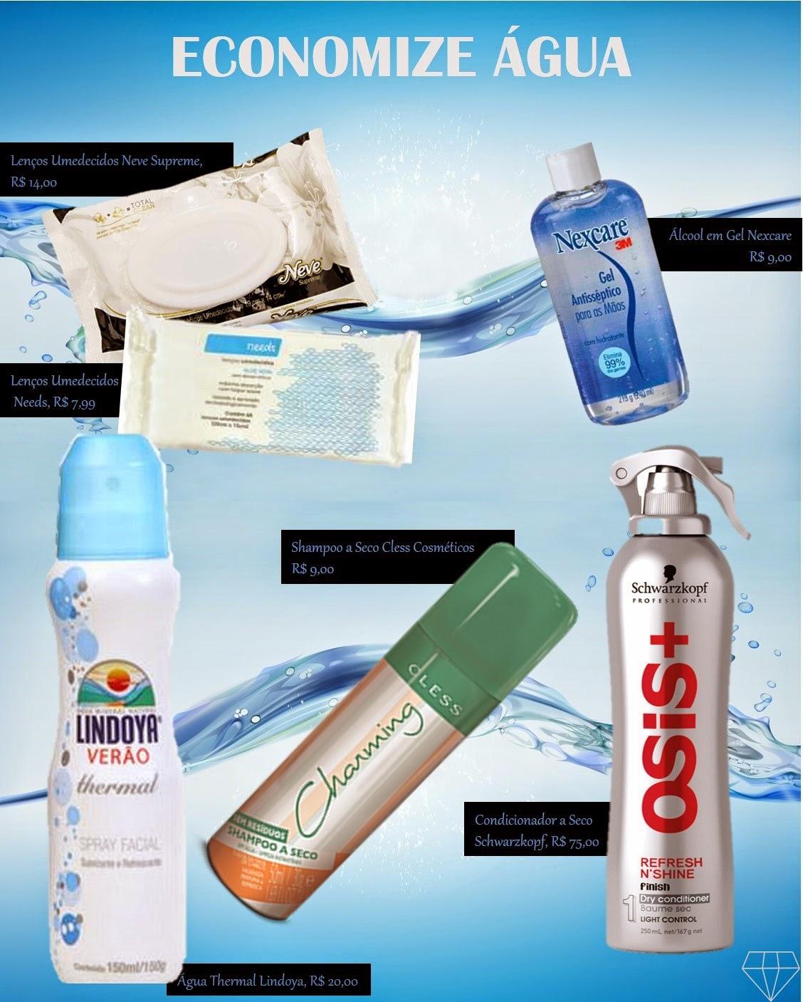 cosmeticos para economizar agua