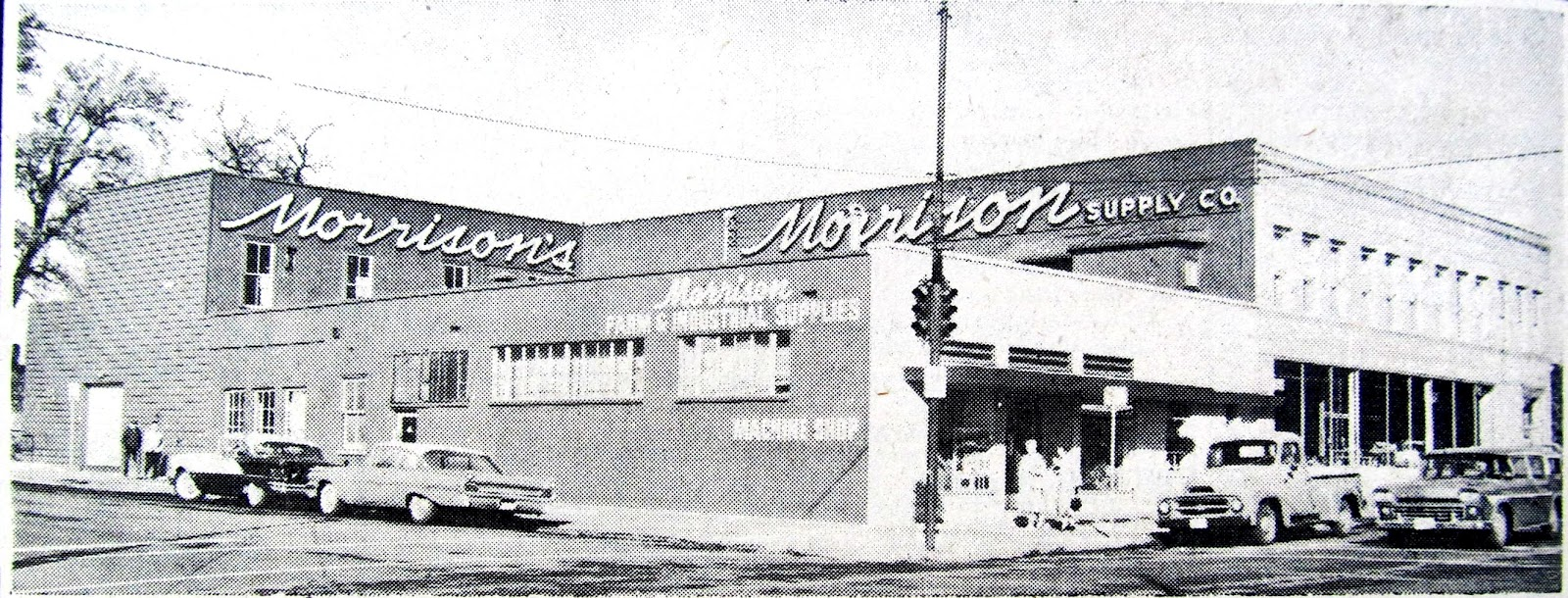 Wagons in vintage street scenes page 907 station wagon for Morrison supply