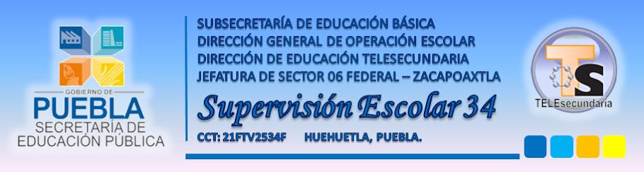Supervisión Escolar Zona 34 Huehuetla