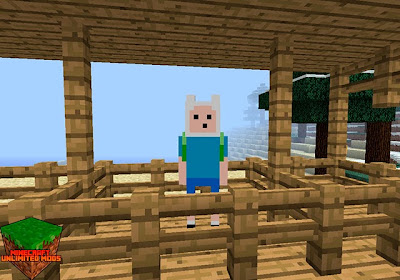 Adventure Time Craft Texture Pack finn