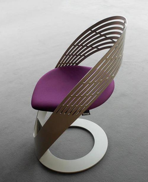 Hermosa silla moderna de dise o acogedor ideas para for Sillas de metal modernas