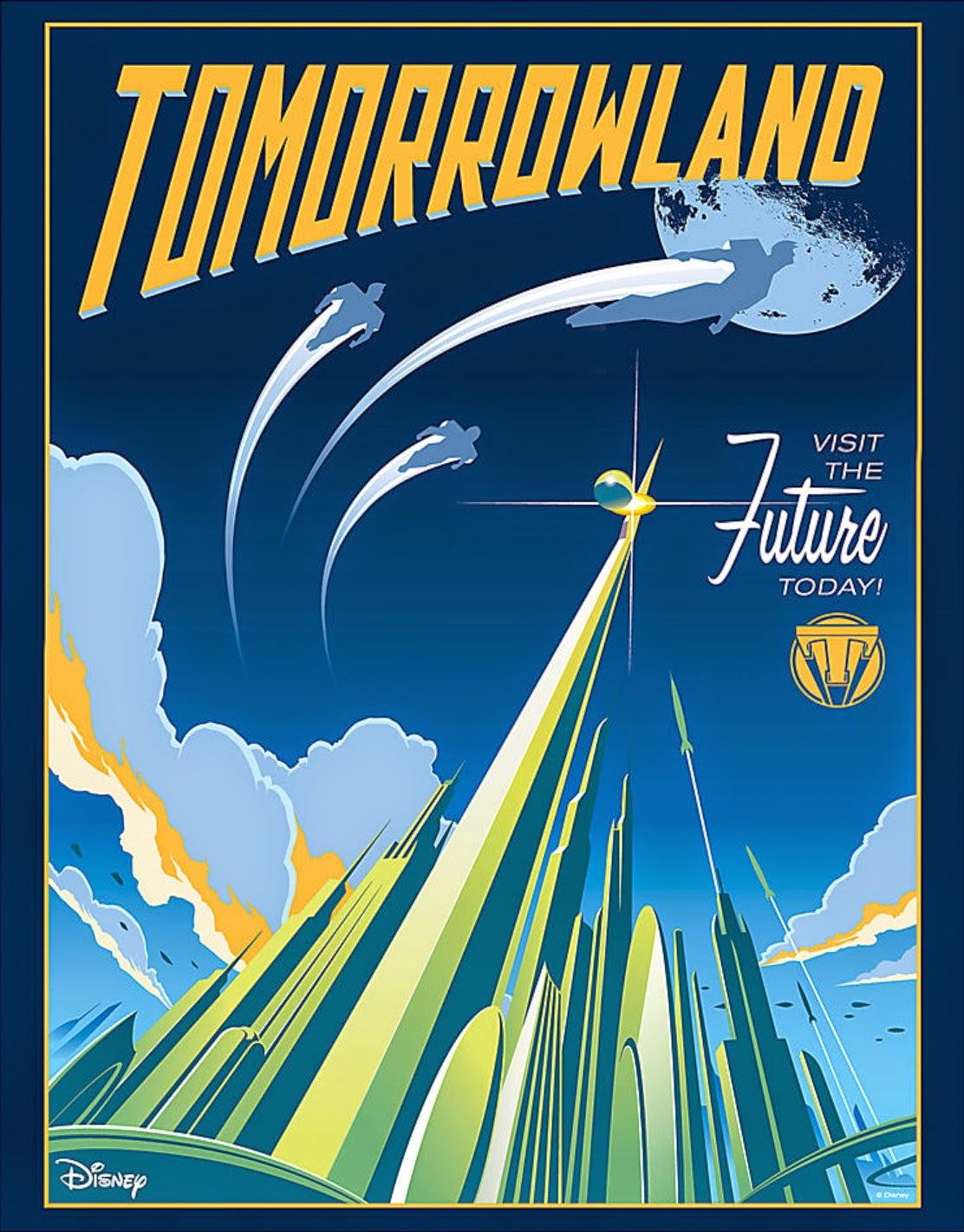 Geek Art Gallery Posters Tomorrowland