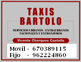 TAXIS BARTOLO - ENGUERA