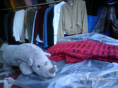 Woolen sweaters in Badrinath, Uttarakhand