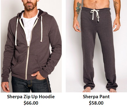 Sherpa Pant and Sherpa Hoodie
