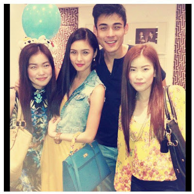 Kim Chiu and Xian Lim Spotted: July 2012