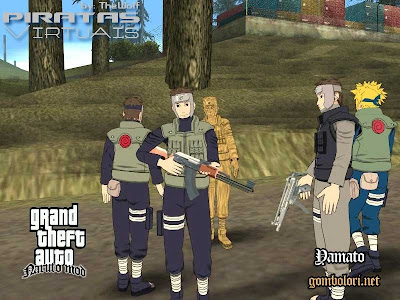 Introduction d une nouvelle version du jeu gta shinobi world où
