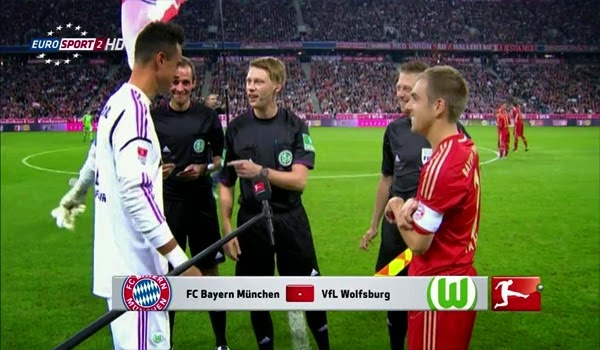 Bayern Munchen vs Wolfsburg